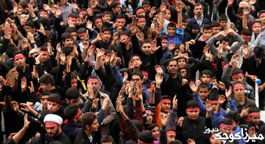 تجمع بزرگ عزاداران حسینی صومعهسرا