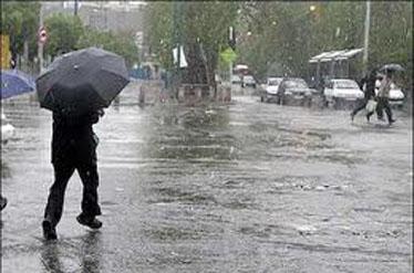 تشدید بارندگی و احتمال آبگرفتگی در گیلان