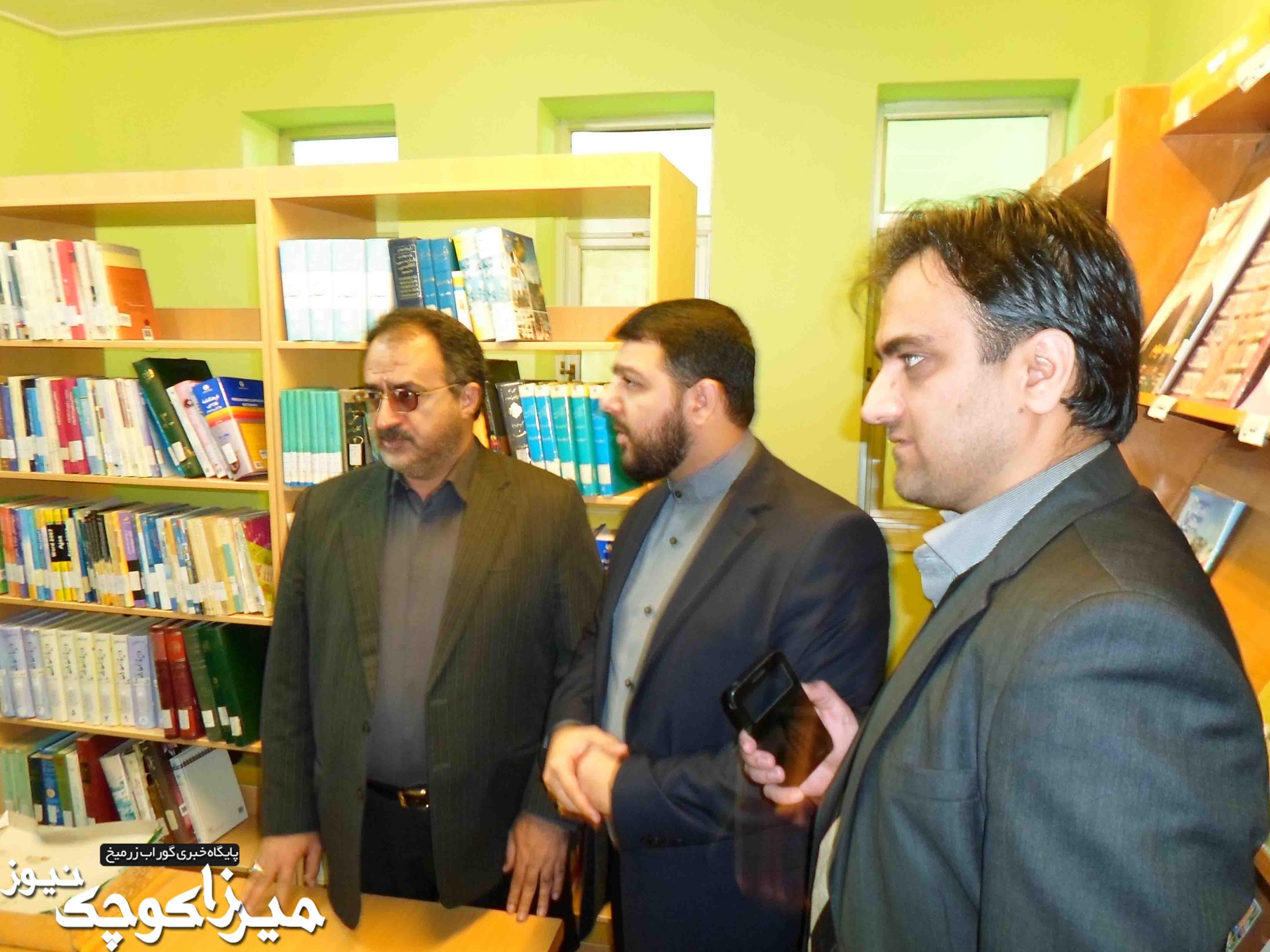 گزارش تصویری افتتاح بخش کودک کتابخانه گوراب زرمیخ