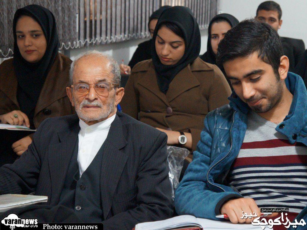 ثبت نام دانشجوی ۷۷ ساله در دانشگاه آزاد صومعه سرا+تصاویر
