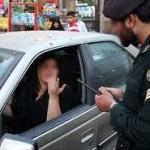 """برخورد پلیس با """"دور دور"""" و """"کشف حجاب"""" در خودروه"""