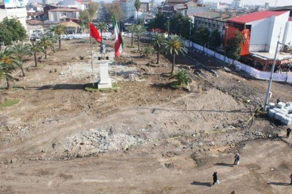 بقایای یافت شده در میدان شهرداری رشت فاقد ارزش تاریخی هستند