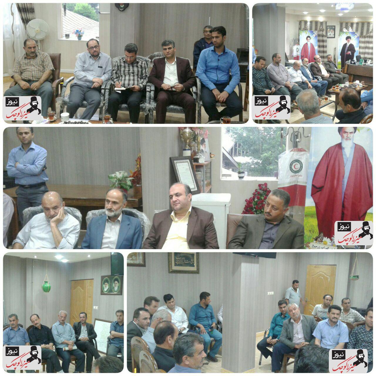 تشکیل جلسه رسیدگی به مشکلات برق در شهر گوراب زرمیخ