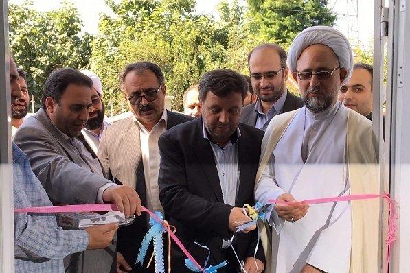 افتتاح ۳ پروژه بهداشتی درمانی در شهرستان صومعه سرا