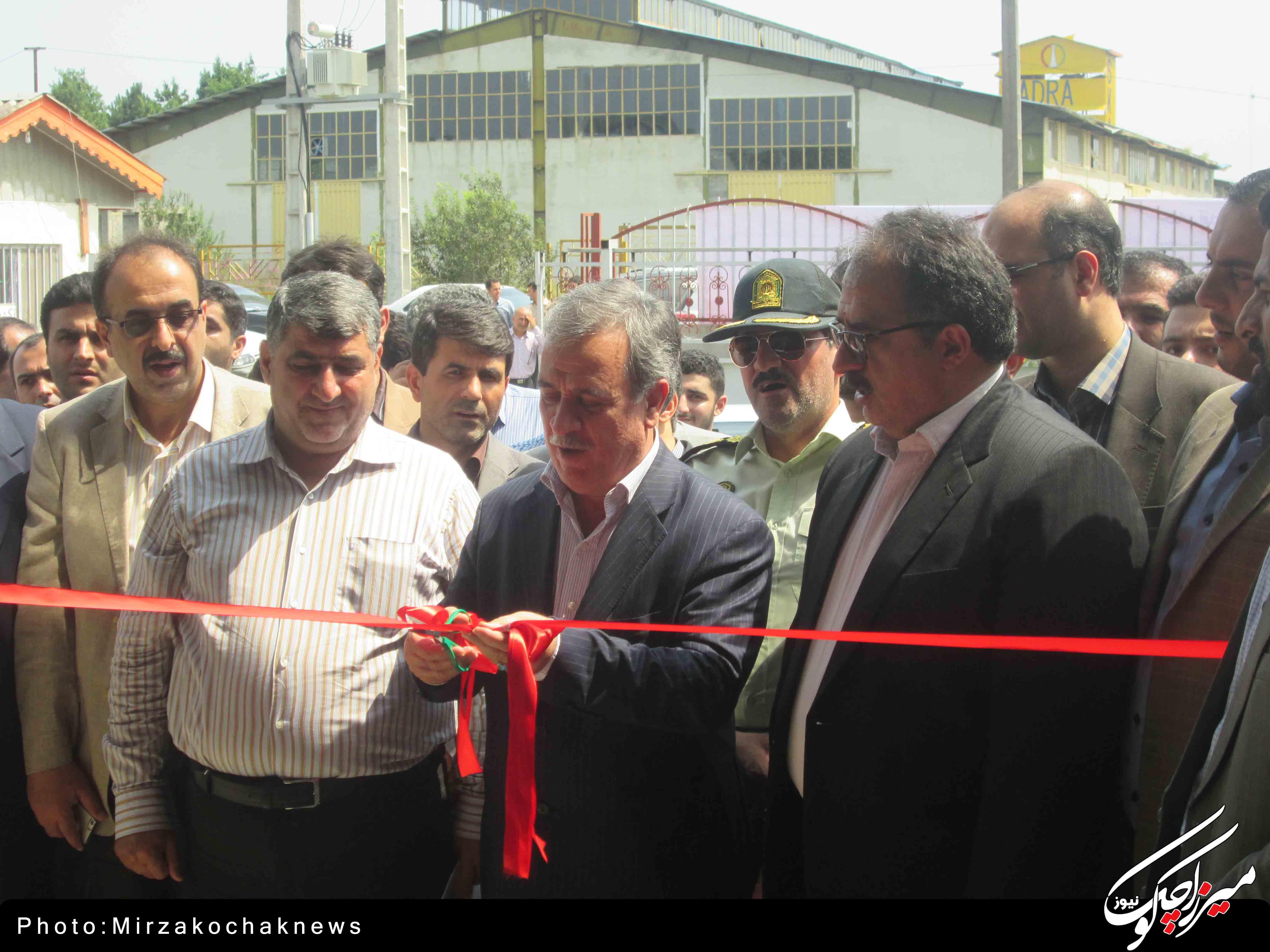 افتتاح سه پروژه تولیدی و صنعتی در شهرک صنعتی صومعه سرا