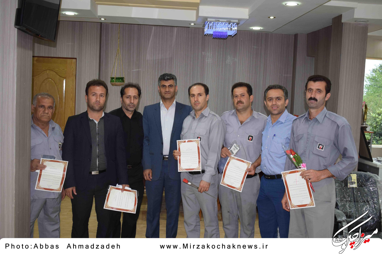 گرامیداشت ۷ مهر روز آتش نشانی و ایمنی در شهرداری گوراب زرمیخ برگزار شد