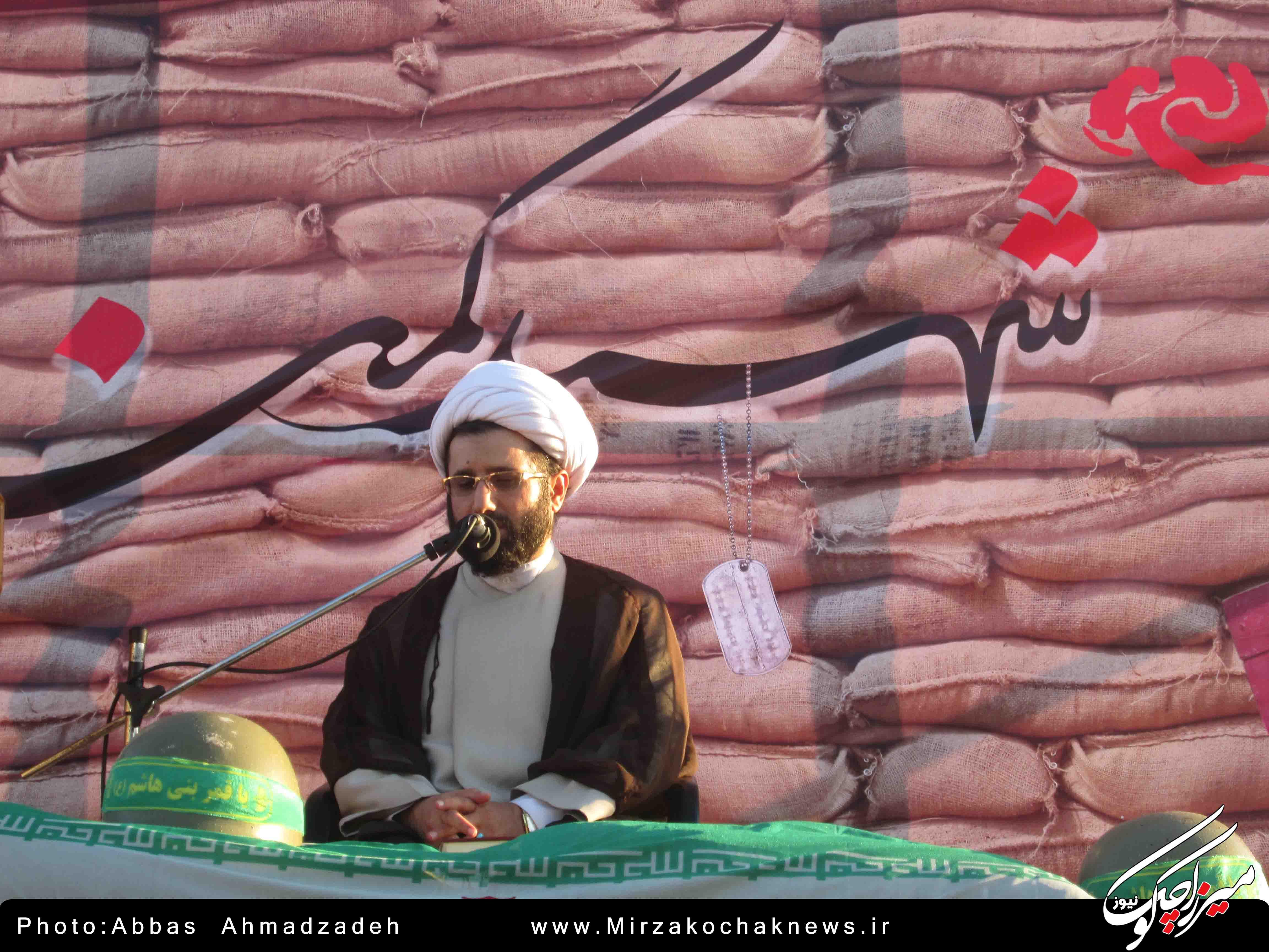 اربعین شهدای گمنام شهر گوراب زرمیخ برگزار شد