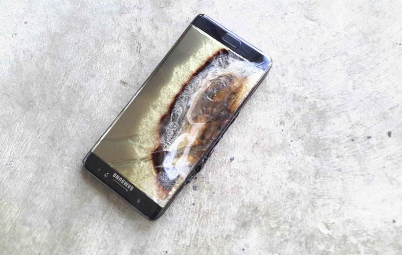 آتش گرفتن نوت ۷ در هتل، ۱۴۰۰ دلار خسارت وارد کرد