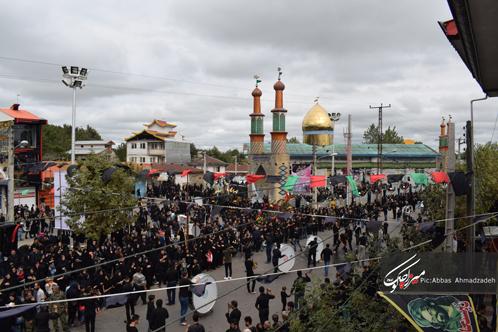 گزارش تصویری عاشورای حسینی در گوراب زرمیخ
