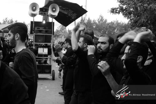 گزارش تصویری هیئت سوگواری حضرت بنت الحیدر(س)+خیمه سوزان