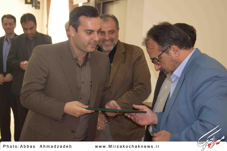 دکتر فرزاد امدادی به عنوان بخشدار جدید بخش میرزا کوچک معرفی شد