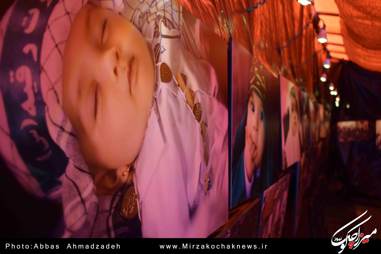 نمایشگاه عکس باب الحسین در گوراب زرمیخ افتتاح شد