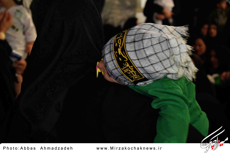 همایش شیرخوارگان حسینی در گوراب زرمیخ