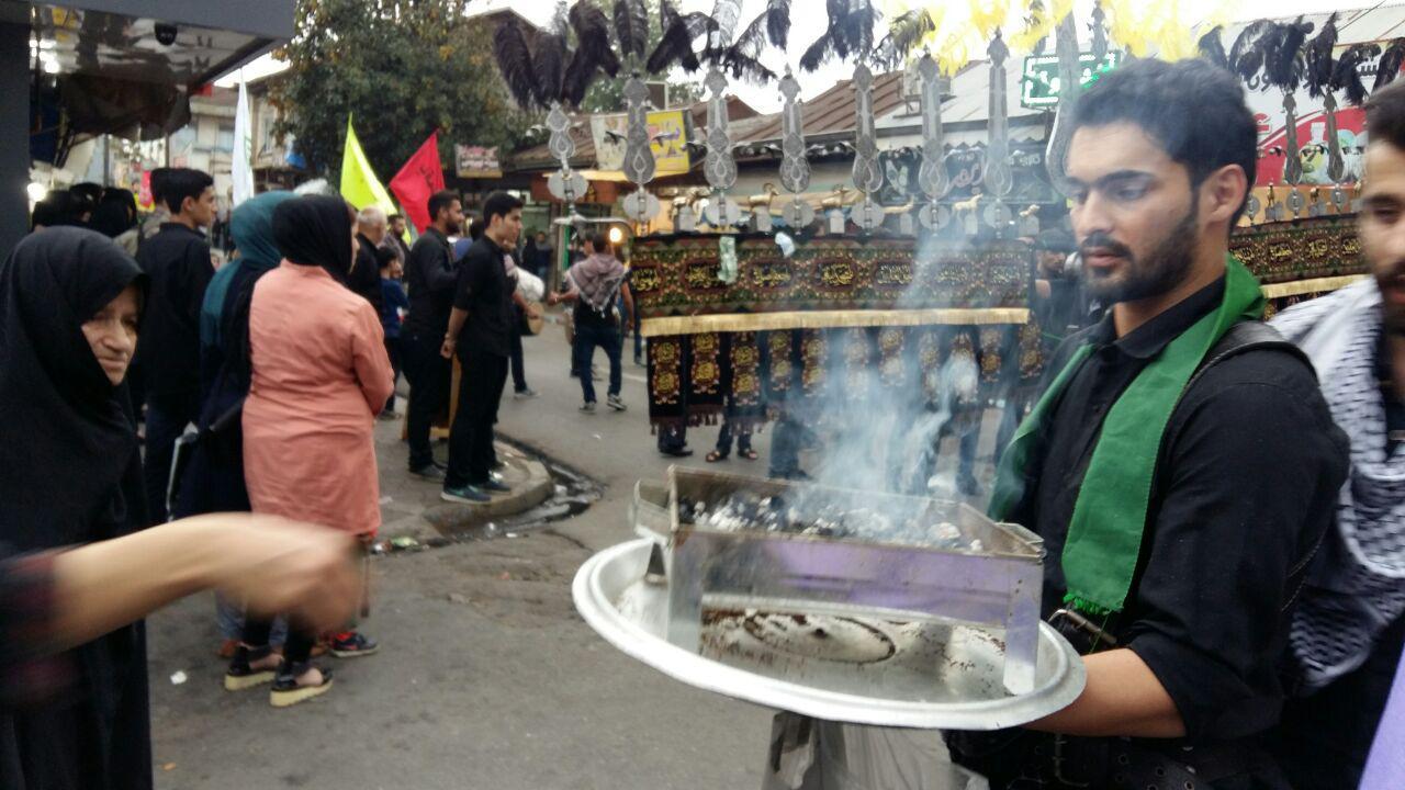 عزاداری روز تاسوعا در صومعه سرا