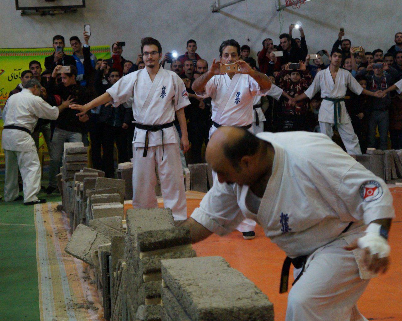 همایش کاراته کیوکوشین در صومعه سرا