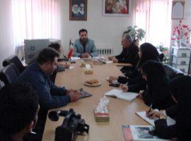نشست خبری کمیته ی فرهنگی و هنری ستاد دهه فجر صومعه سرا
