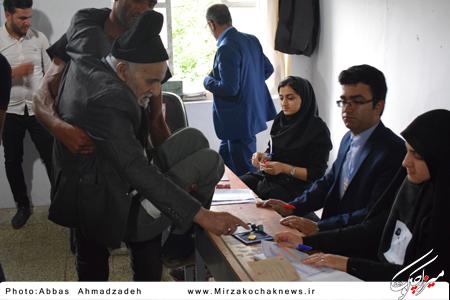 مشارکت ۹۴.۷۶ درصدی صومعه سرایی ها در انتخابات ۲۹ اردیبهشت