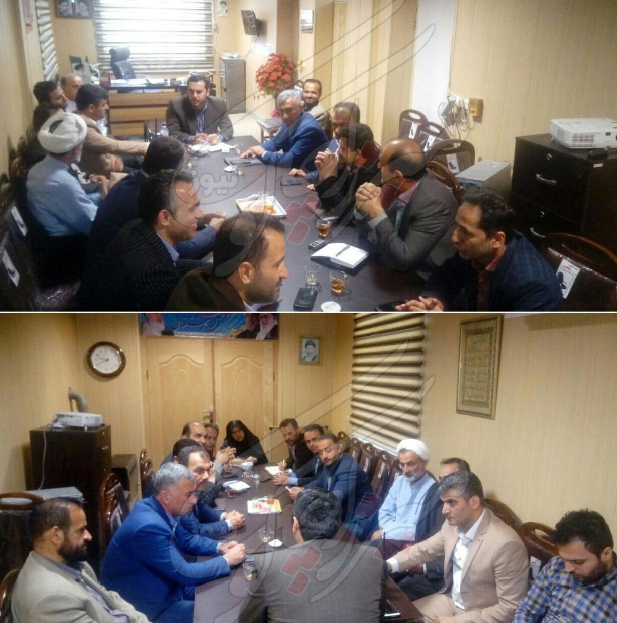 جدول زمان و مکان سخنرانی نامزدهای شورای شهر گوراب زرمیخ