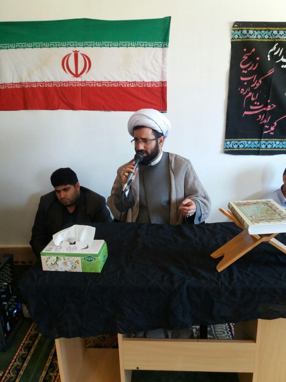 مراسم سالگرد ارتحال امام خمینی (ره) در کمیته امداد گوراب زرمیخ برگزار شد
