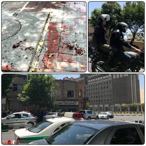 شهادت یک صومعه سرایی در جریان حمله تروریستی در صحن مطهر حضرت امام خمینی(ره)