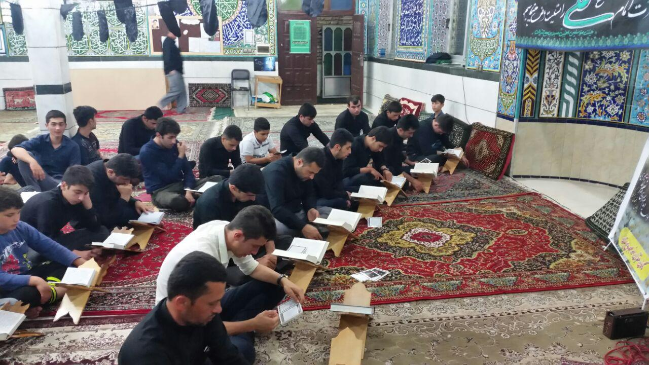 مراسم شب دوم از لیالی قدر در مسجد جامع تنیان برگزار شد