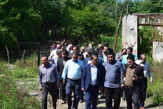 بازدید فرماندار صومعه سرا از بخش میرزاکوچک و شهر گوراب زرمیخ