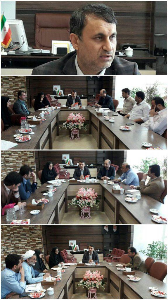جلسه فرماندار با منتخبین اعضای شورای اسلامی سه شهر؛ صومعه سرا ، تولمشهر و گوراب زرمیخ