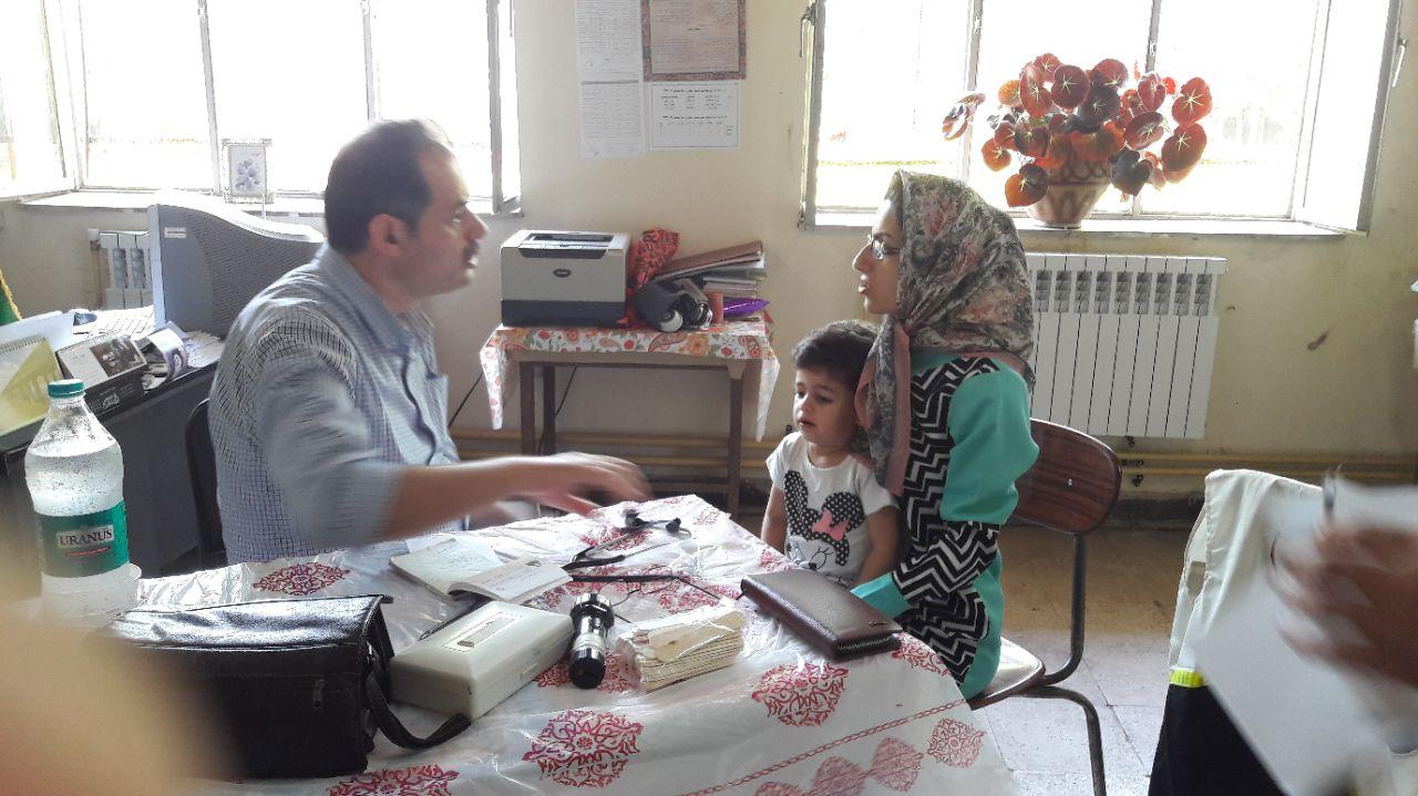 اجرای طرح «ویزیت رایگان» در روستای ندامان