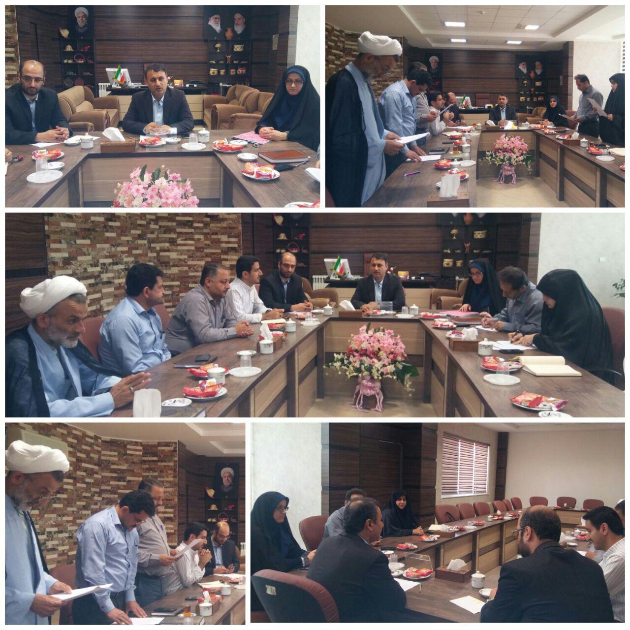 اعضای هیات رییسه شوراهای اسلامی سه شهر صومعه سرا ،گوراب زرمیخ و تولمشهر برگزار شد