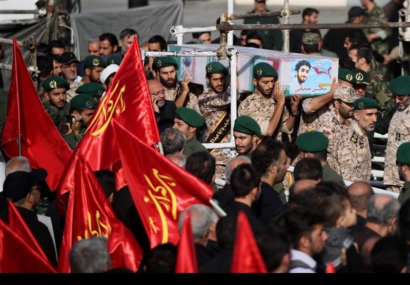 تشییع پیکرمطهر شهید حججی در تهران