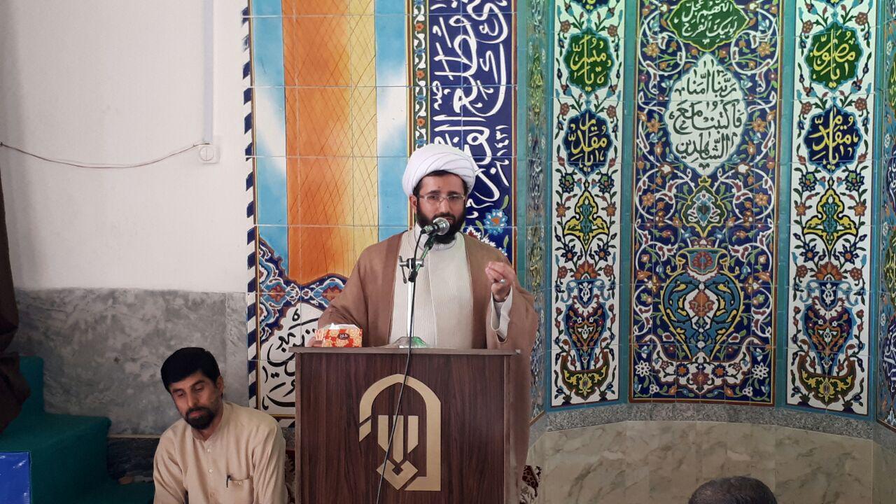 نماز عید سعید قربان در گوراب زرمیخ برگزار شد