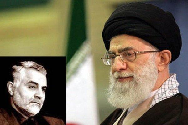 سردار سلیمانی پایان سیطره «شجره خبیثه داعش» را به ولی امر مسلمین تبریک گفت