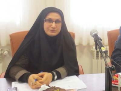 افتتاح نمایشگاه دستاوردهای زنان صومعه سرایی