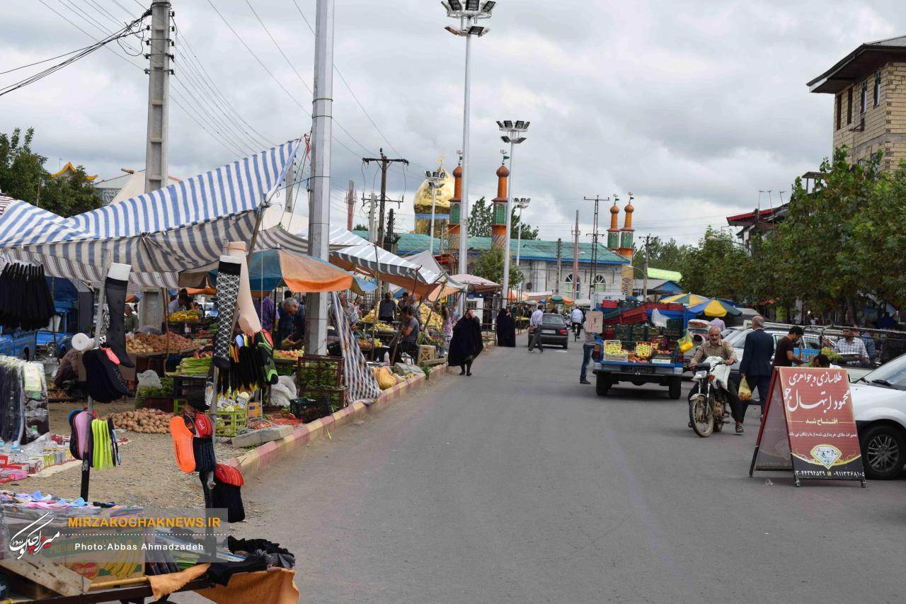 گذری بر دوشنبه بازار گوراب زرمیخ