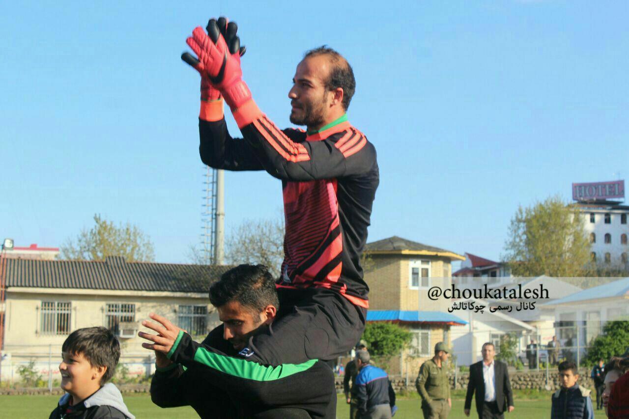 درخشش یه گوراب زرمیخی تیم فوتبال چوکای تالش را برای صعود به لیگ دسته دوم امیدوار کرد