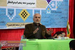 گزارش تصویری از حضور حسن عباسی در صومعه سرا