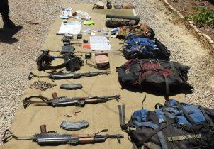 اولین تصاویر از تروریستهای به هلاکت رسیده توسط نیروی زمینی سپاه