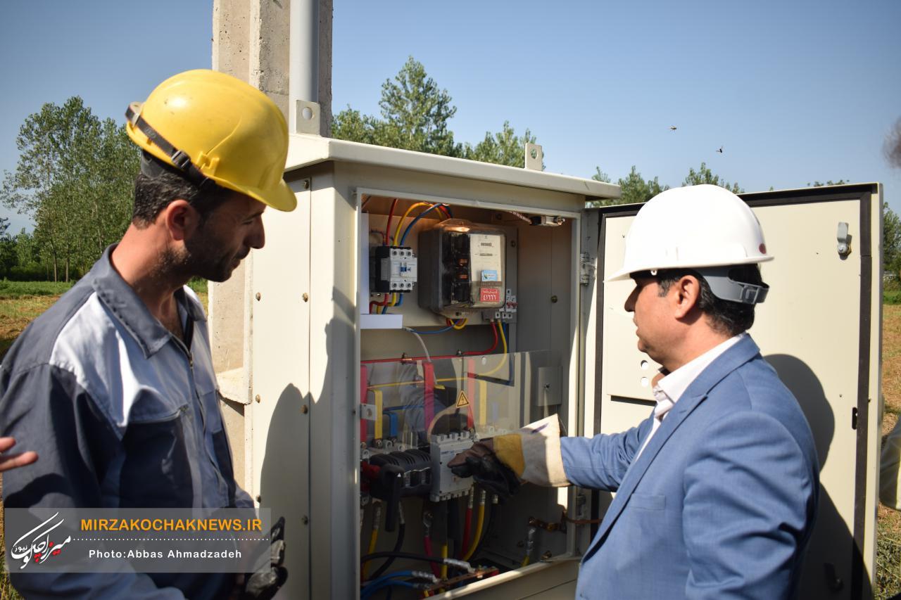 بهره برداری همزمان از  224 پروژه برق رسانی در صومعه سرا