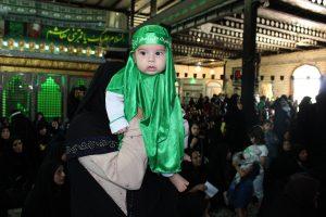 همایش شیرخوارگان حسینی در صومعه سرا برگزار شد