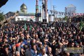 تجمع بزرگ اربعین حسینی در شهر گوراب زرمیخ صومعه سرا