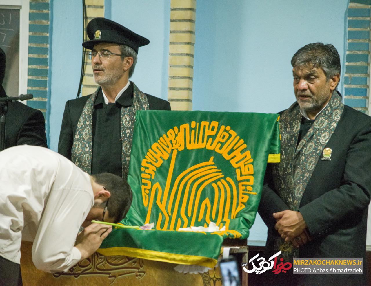 حضور خادمین امام رضا (ع) در مسجد جامع اباتر