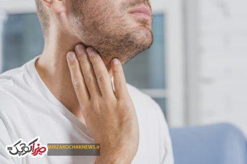 ۱۰ علت خارش گلو و درمان آن