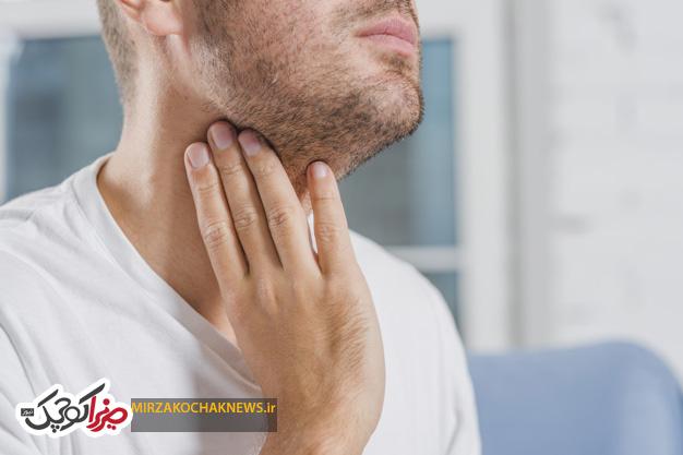 10 علت خارش گلو و درمان آن