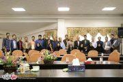 مراسم تجلیل از خبرنگاران صومعه سرا برگزار شد+تصاویر