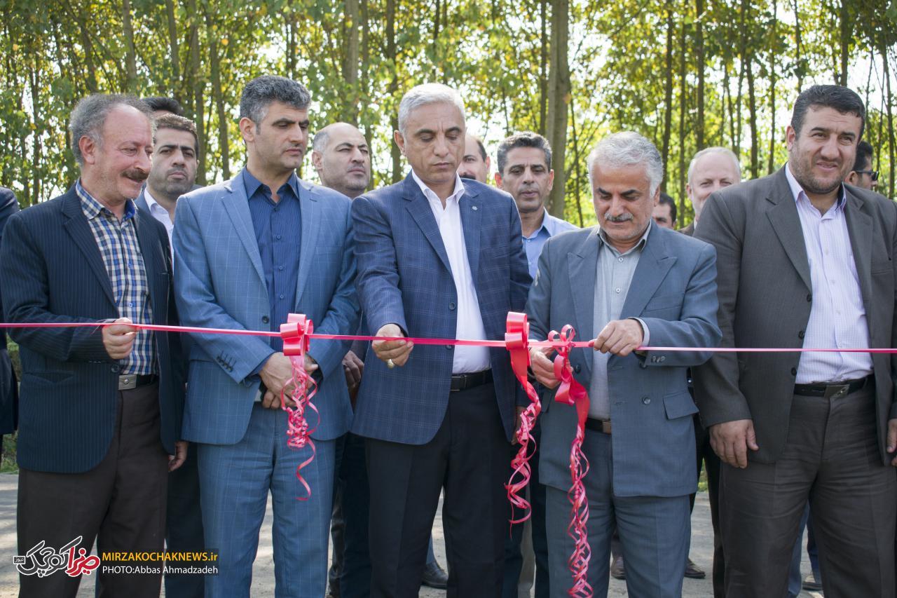 افتتاح همزمان 7 پروژه جهاد کشاورزی صومعه سرا