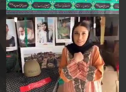 ادای احترام خواننده معروف آذربایجانی به شهدا در تبریز + فیلم