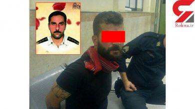 پارک دانشجو محل اعدام در ملاعام قاتل شهید مدافع وطن است