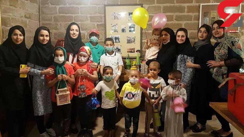 کار ماندگار ۵ معلم تهرانی برای دانش آموزان سرطانی + عکس