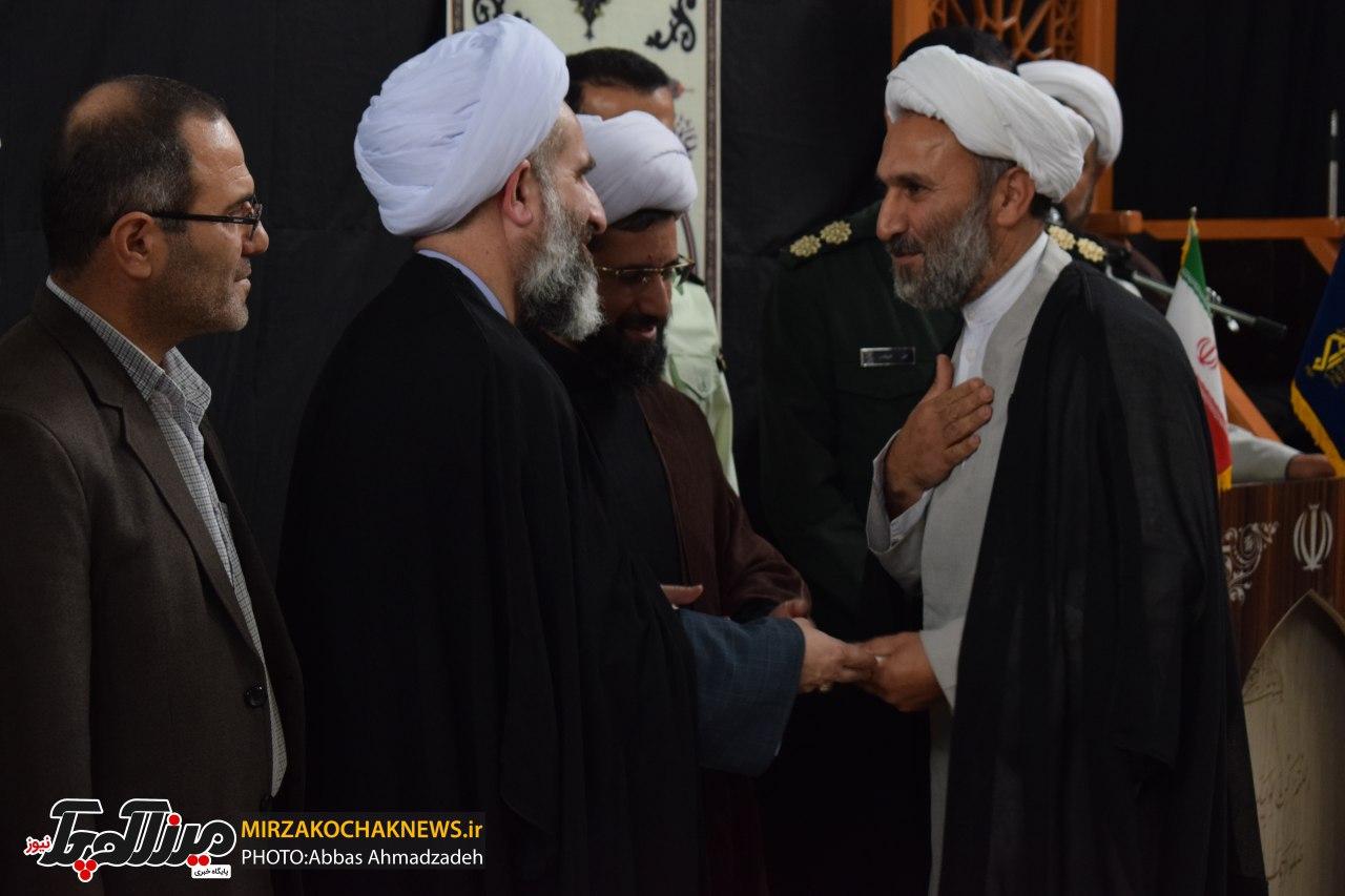 آیین تکریم و معارفه رییس تبلیغات اسلامی صومعه سرا برگزار شد