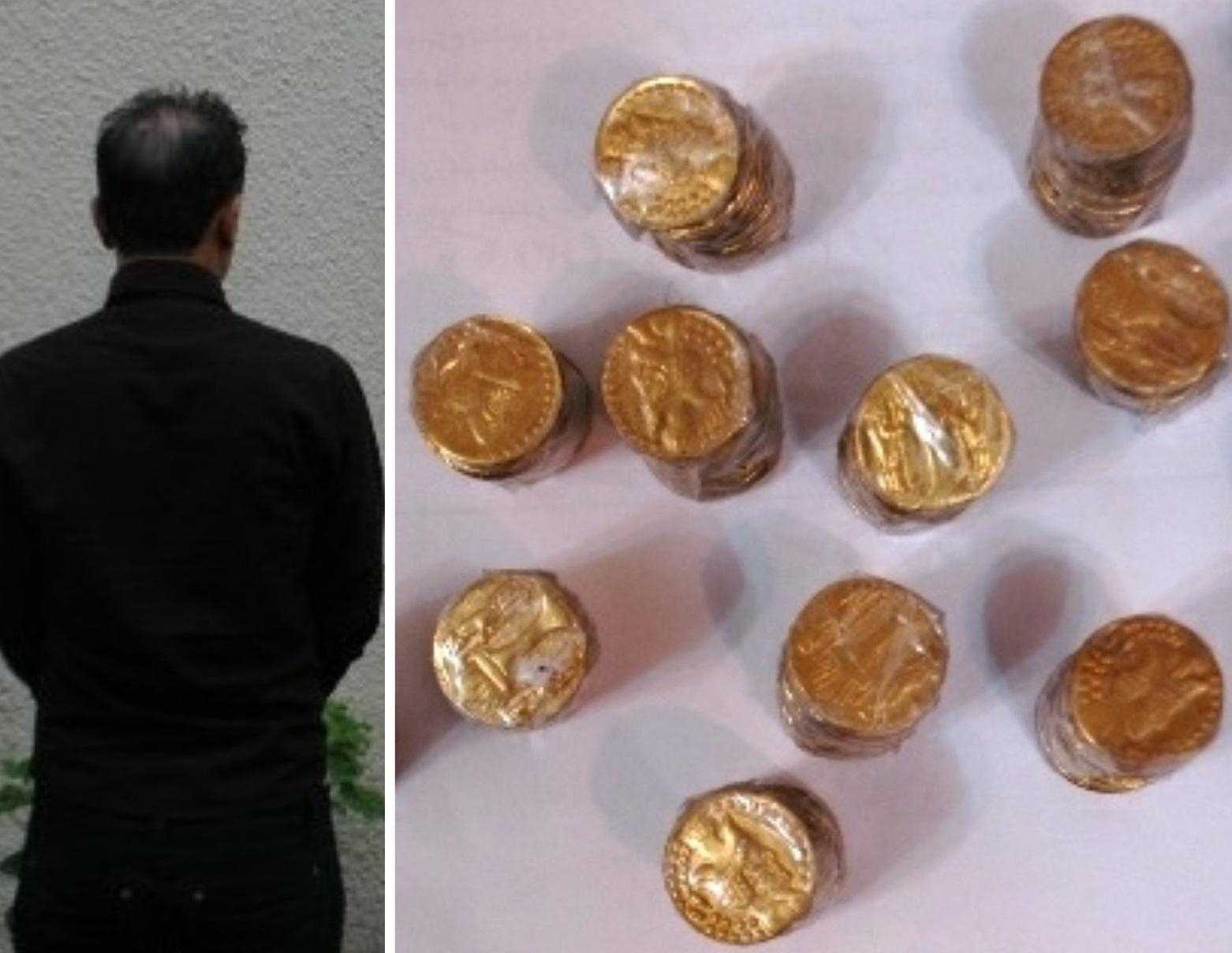 کشف سکههای تقلبی در صومعهسرا